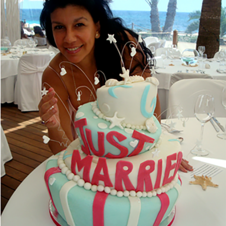 Ibiza Wedding Guide Cake Show