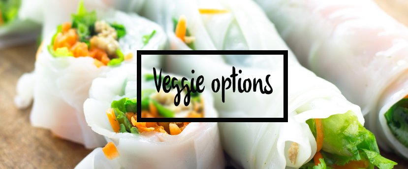 Veggie options