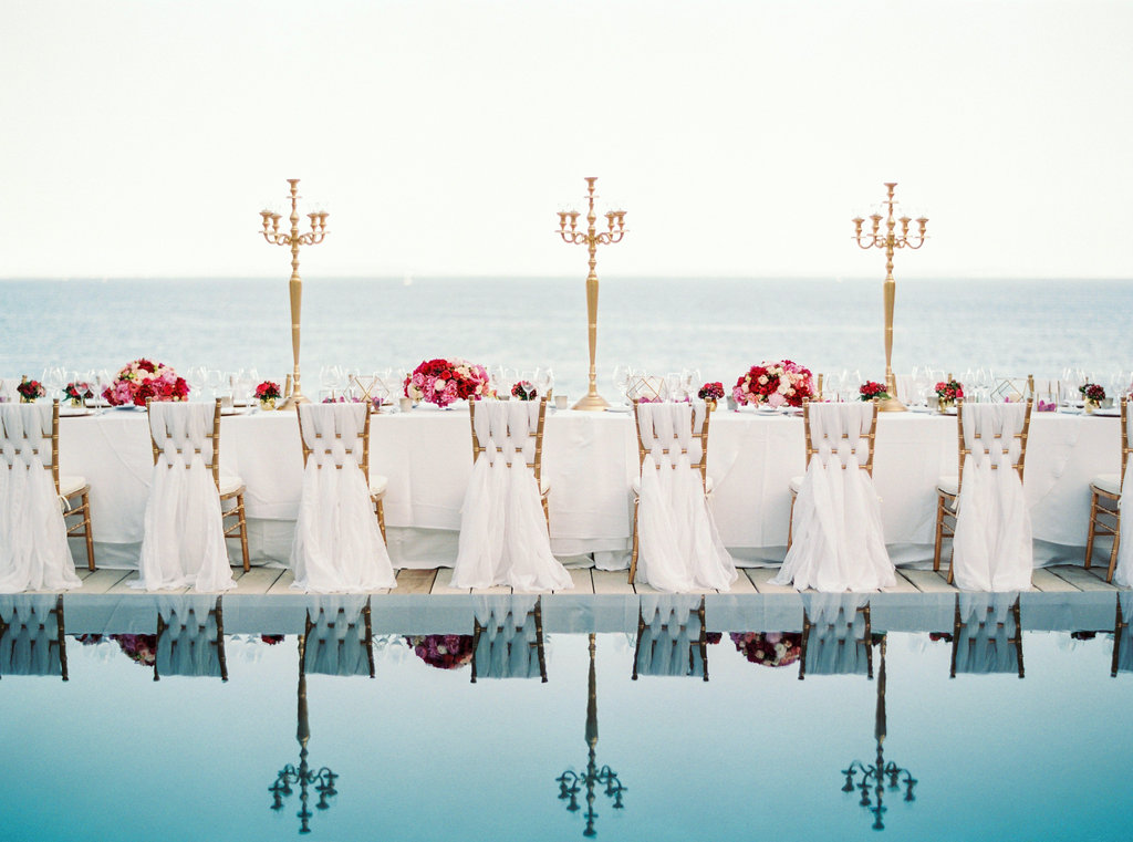 White ibiza wedding